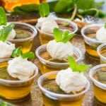 Mint Julep Jello Shots