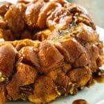 Monkey Bread on a plate.