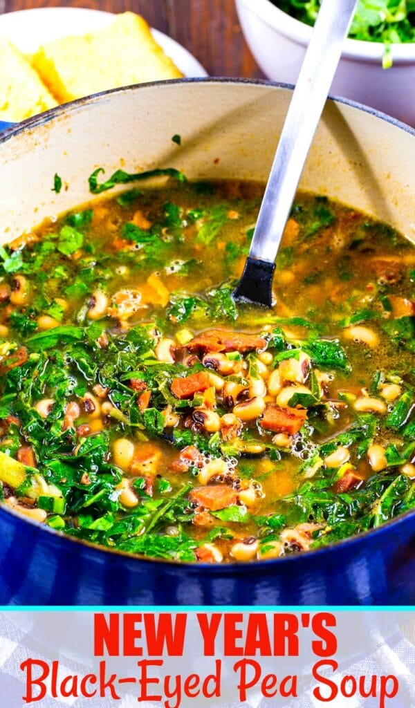 New Year's Black-Eyed Pea Soup - Spicy Southern Kitchen