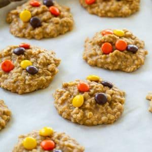 No-Bake Peanut Butter Oatmeal Cookies