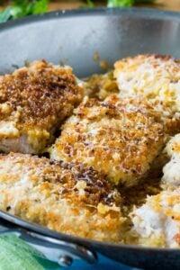 Buttermilk Parmesan Pork Chops