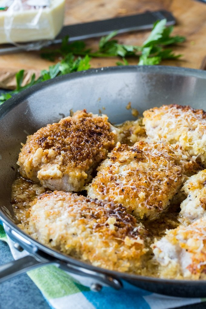 Buttermilk Parmesan Pork Chops