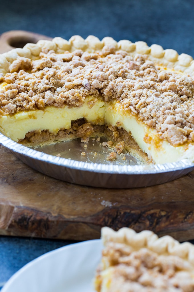 Easy Peanut Butter Crunch Pie