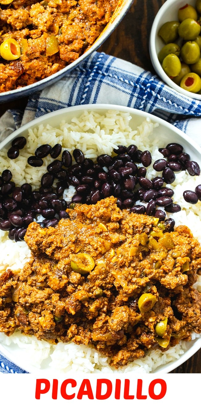 Picadillo close-up