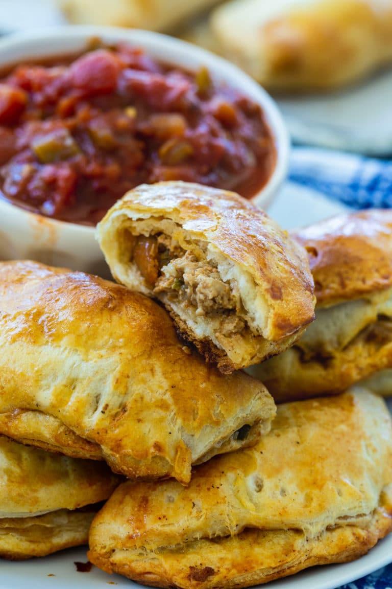 Baked Pork Picadillo Empanadas