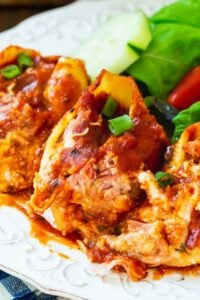 Stuffed Shells with Pulled Pork