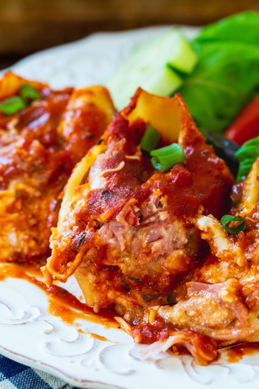 Pulled Pork Stuffed Shells