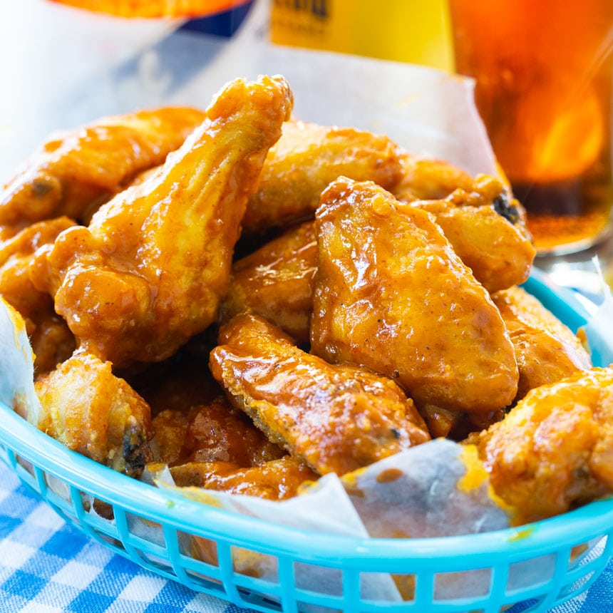 Wings with Mustard Sauce