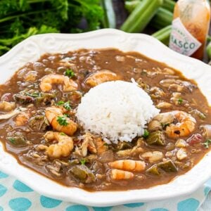 SEasfood and Okra Gumbo with Rice