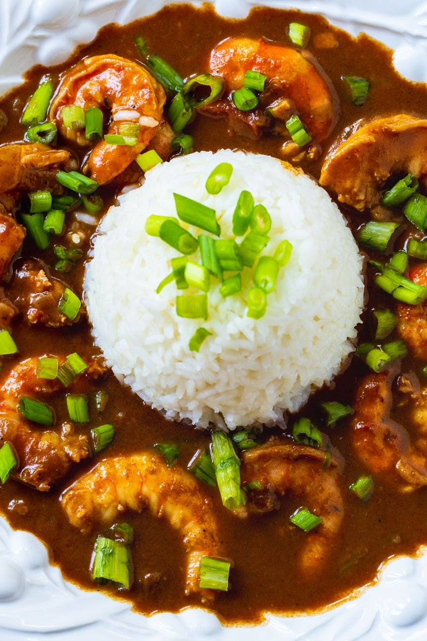 Shrimp Etouffee Recipe Spicy Southern Kitchen