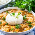 Seafood Etouffee with Shrimp and Crab