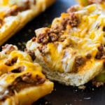 Sloppy Joe French Bread Pizza