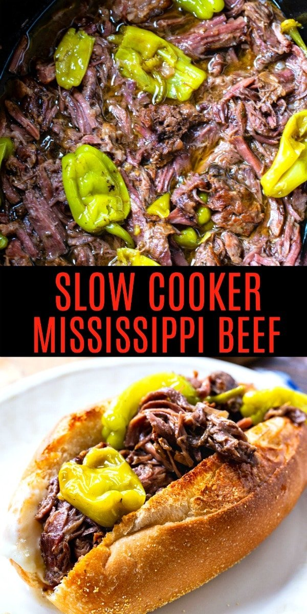 Slow Cooker Mississippi Beef