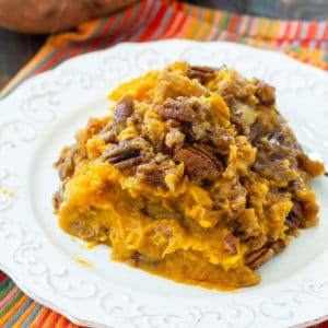 Crock Pot Sweet Potato Casserole