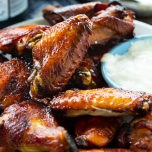 Sticky Soy Brown Sugar Chicken Wings