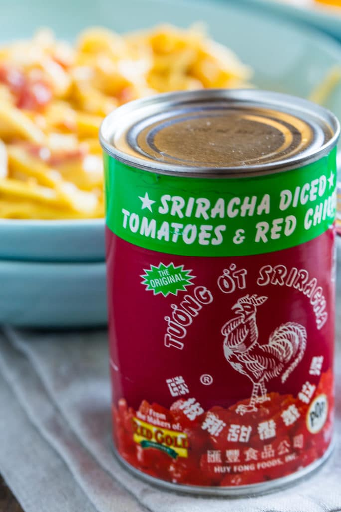 Red Gold's Sriracha Tomatoes