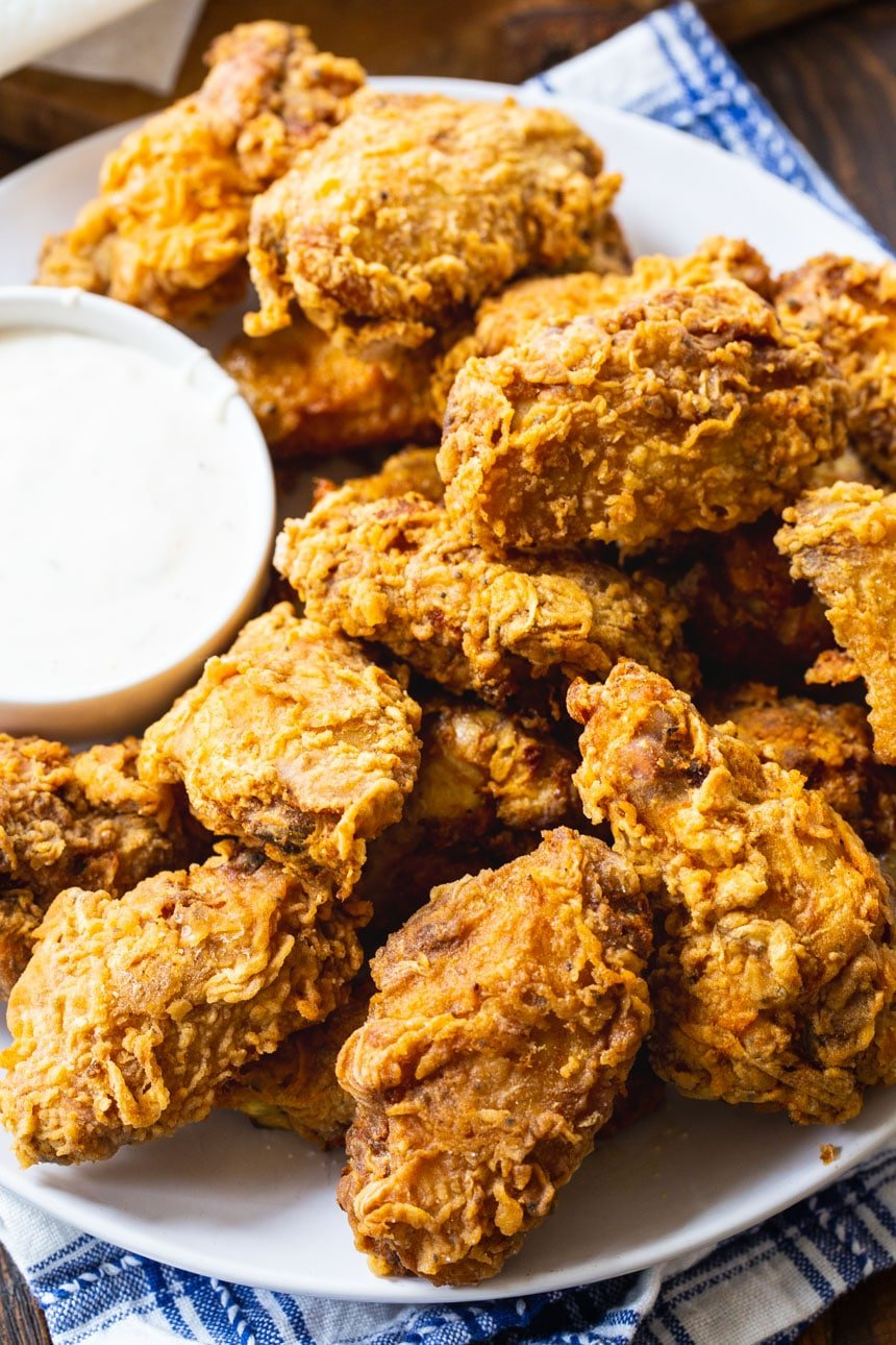 Spicy Fried Chicken Wings