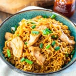 Ramen Noodles with Spicy Pork
