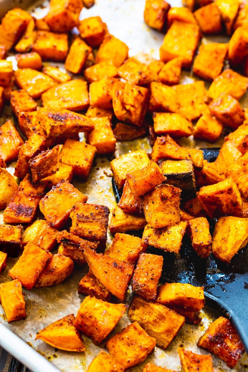 Spicy Sweet Roasted Sweet Potatoes Spicy Southern Kitchen