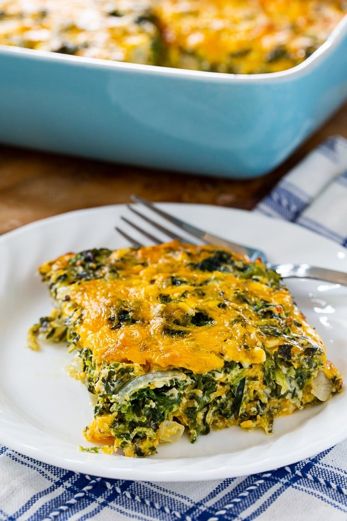 Spinach and Cheese Casserole