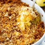 Squash Casserole with Stuffing Top