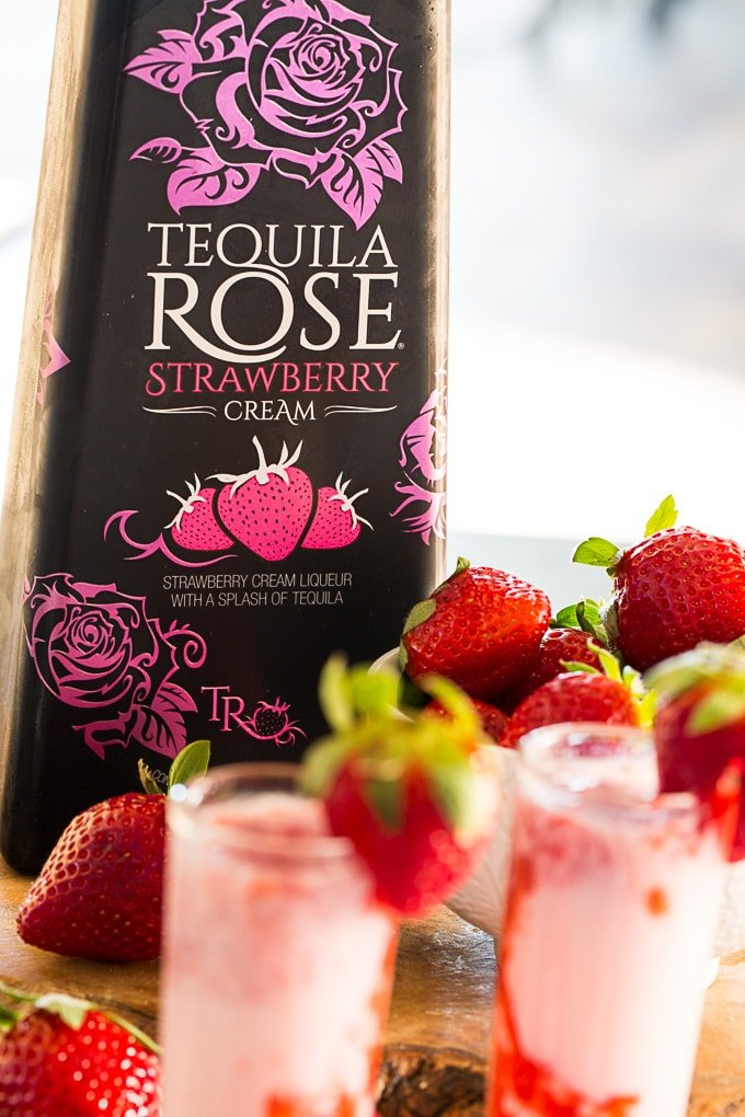 bottle of Tequila Rose