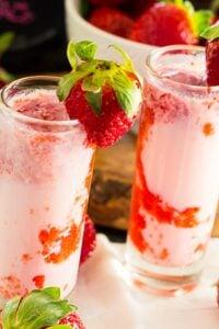 Strawberry Shortcake Shots