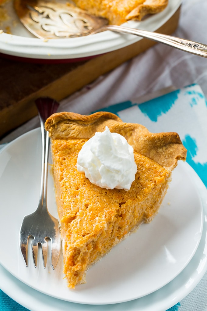 Sweet Potato Buttermilk Pie makes a great Thanksgiving dessert