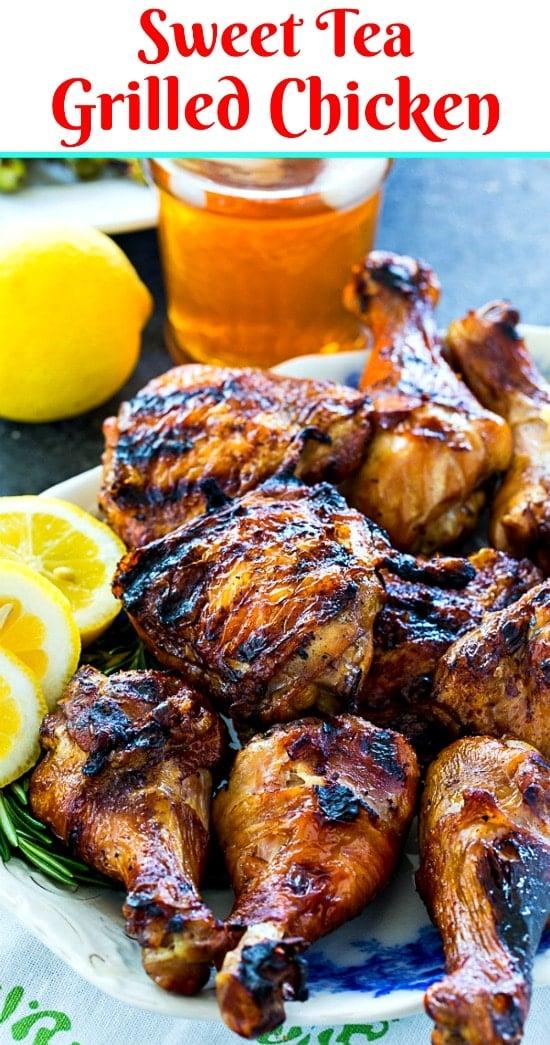 Sweet Tea Grilled Chicken