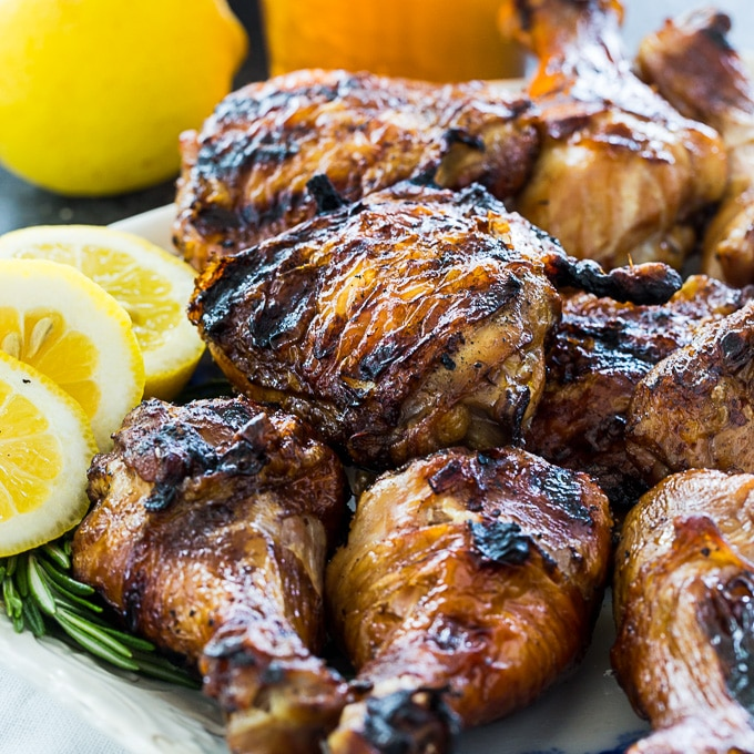 Sweet Tea Grilled Chicken