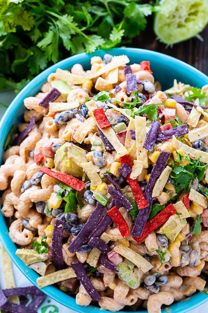 Tex Mex Pasta Salad