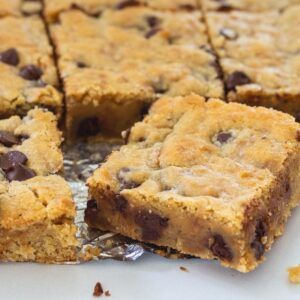 Toffee Bars with Chocolate Chips