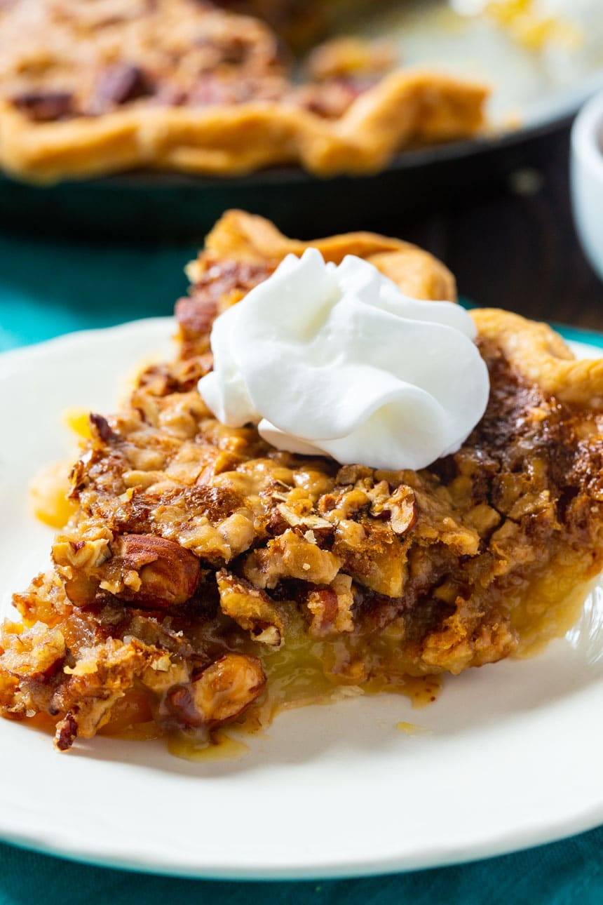 Toffee Nut Pie