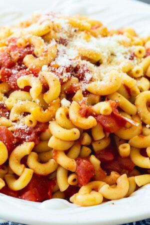 Tomatoes and Macaroni