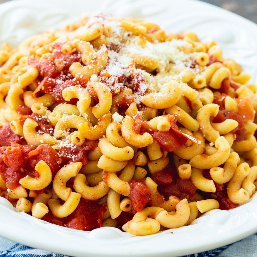 Tomatoes and Macaroni