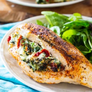 Tuscan Stuffed Chicken