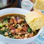 White Bean and Collard Green Soup
