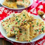 White Chocolate and Peanut Butter Christmas Crack