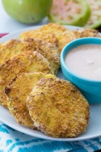 Air Fryrer Fried Green Tomatoes