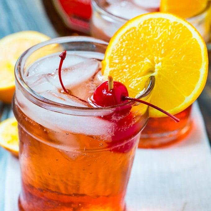Bourbon Amaretto Cocktail