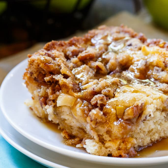 Apple Crisp Coffee Cake Spicy Southern Kitchen