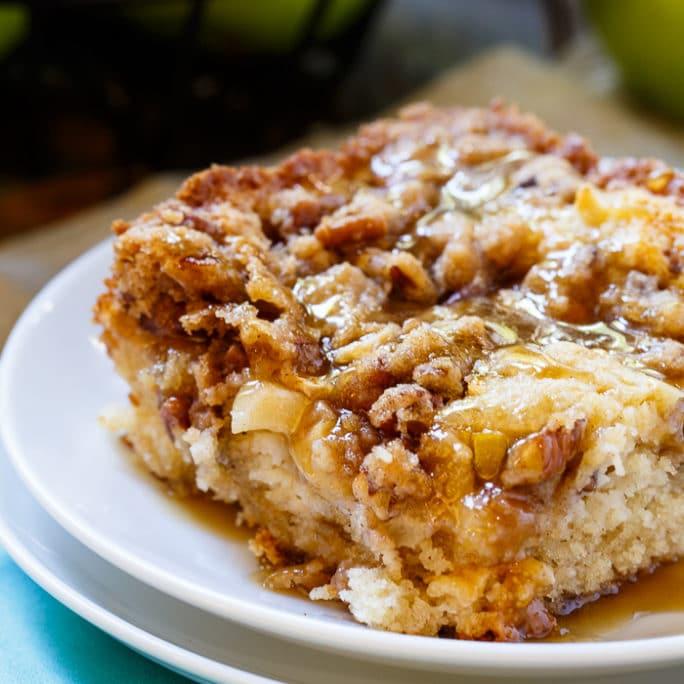 Apple Pecan Coffee Cake Recipe