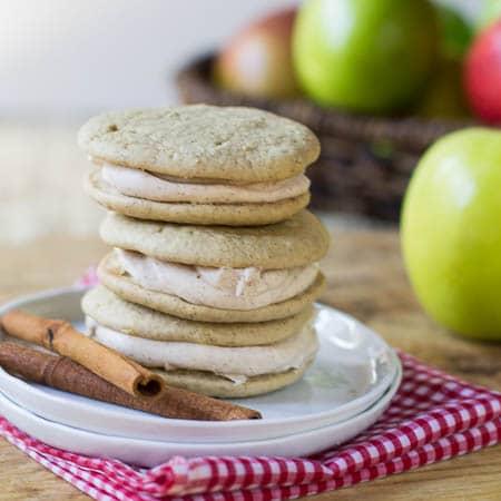 Apple Spice Whoopie Pies