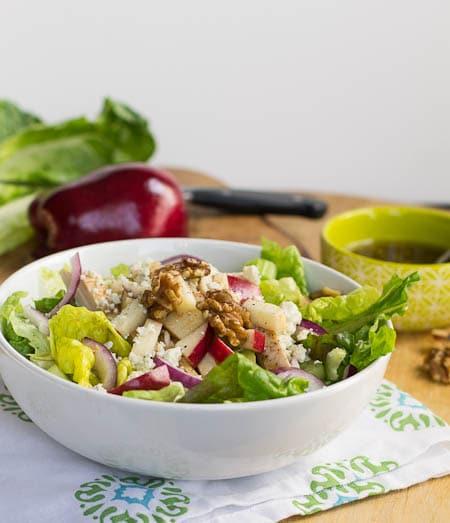 Apple Walnut Chicken Salad- Applebee's Copycat