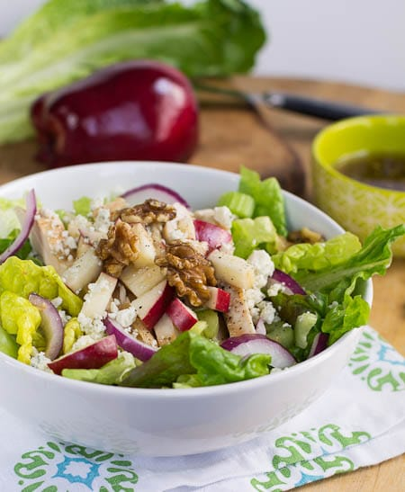 Apple Walnut Chicken Salad
