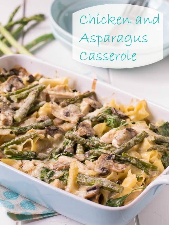 Chicken and Asparagus Casserole