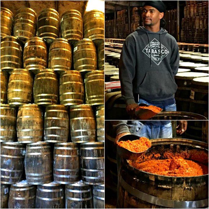 TABASCO sauce production on Avery Island
