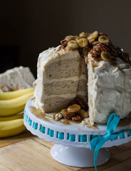 Banana Foster Cake