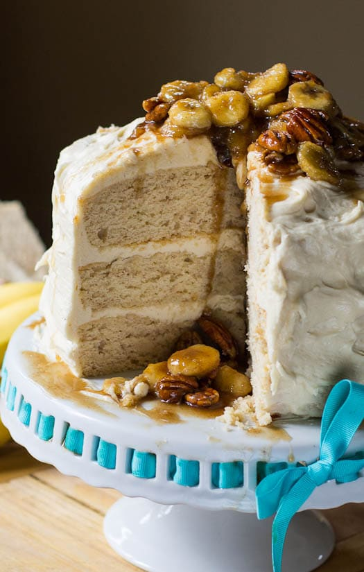Bananas Fosters Cake