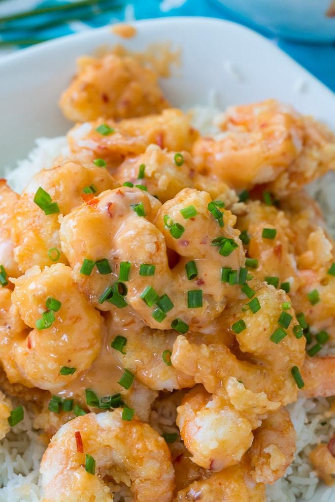Copycat Bang Bang Shrimp (Bonefish Grill copycat)